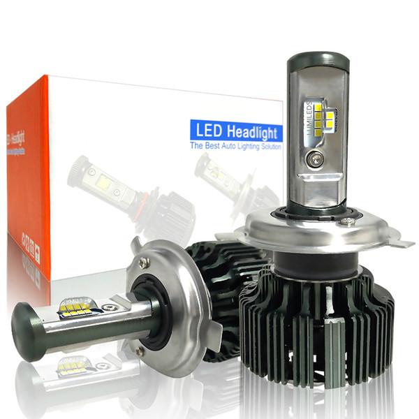 H4 H7 H11 H1 CSP LED 9005 / HB3 9006 / HB4 H13 9004 9007 H3 8000Lm luzes de nevoeiro de faróis de carro branco 6000K 12V 24V