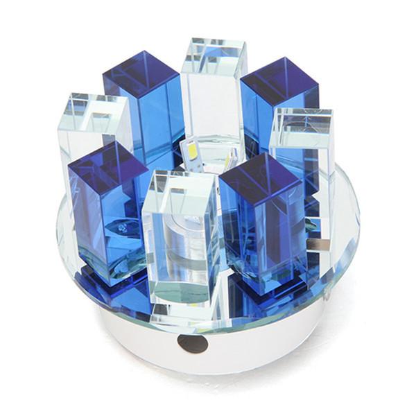 Blue-Semi-flush