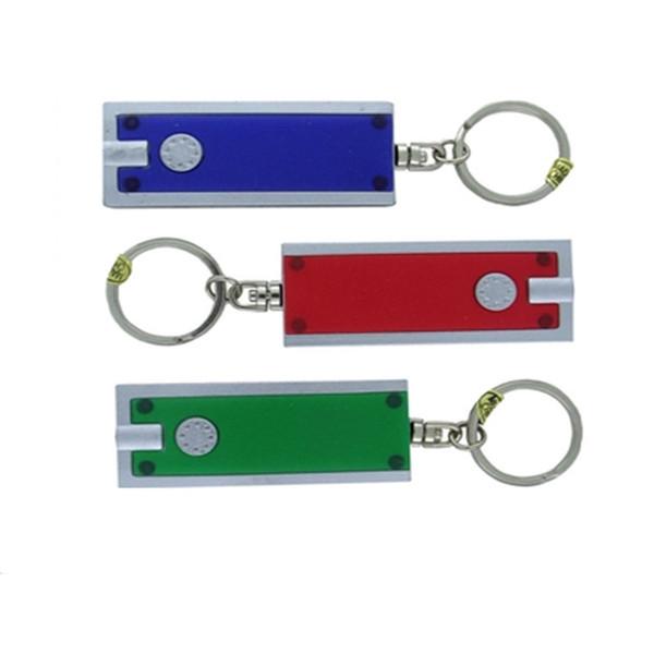 Mini Designer Torch With Key Ring For Night Running Sports Warn Flashlight Practical Portable Tazer Block Shape Creative Idea 0 88ys ZZ