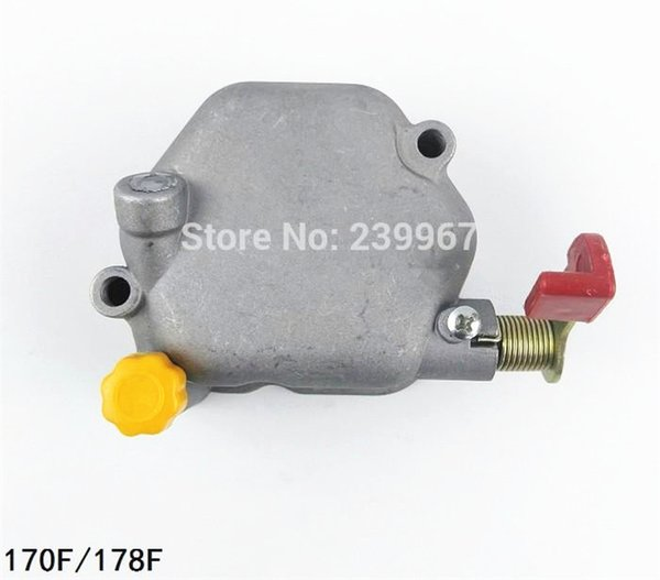 Cylinder head cover for 170F 178F diesel engine decompression cover