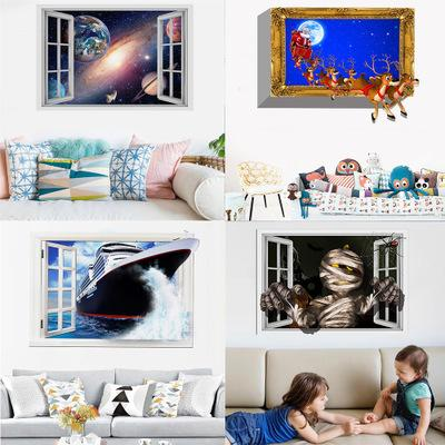 Kunshang New Cross - Border Home Decoration Wall Pasting Living Room And Bedroom Environmental Protection Can Remove Decorative Painting Man