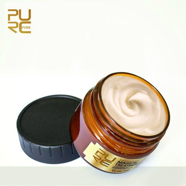 Brand PURC Magical treatment mask 5 seconds Repairs damage restore soft hair 60ml and 120ml for all hair types keratin Hair Scalp Treatment
