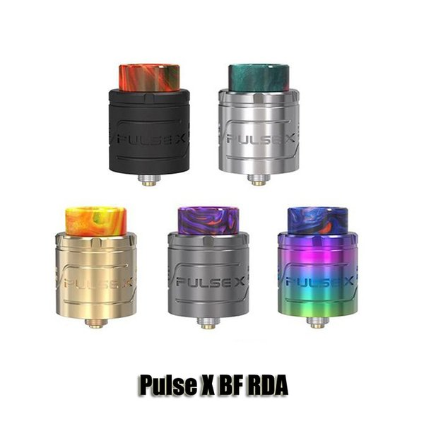 100% Original VandyVape Pulse X BF RDA Atomizer 24mm Diameter 2ml Dual Coil Horizontal & Vertical Build Deck Tank For 510 Thread Box Mods