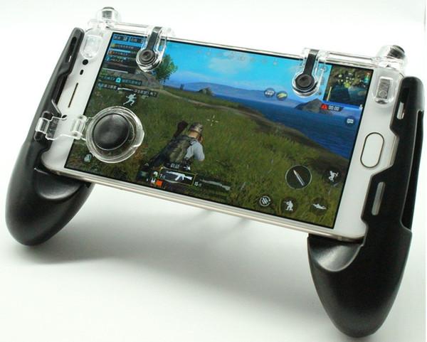 3 en 1 JL-02 manette de jeu portable manette manette de jeu mobile contrôleur pour PUBG / règles de survie / Knives Out Smart Mobile Phone 100pcs / lot