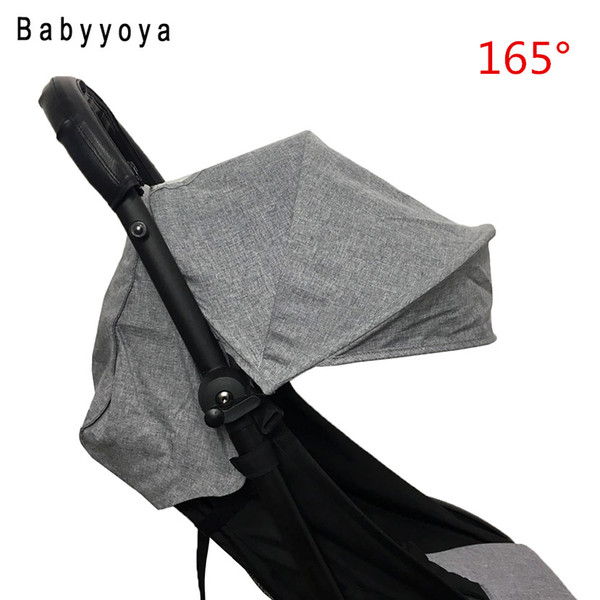 best selling Linen hood and seat mattress pad for Baby Stroller Sun Shade Cover for Babyzen Pram cap accessories Cushion Sun visor