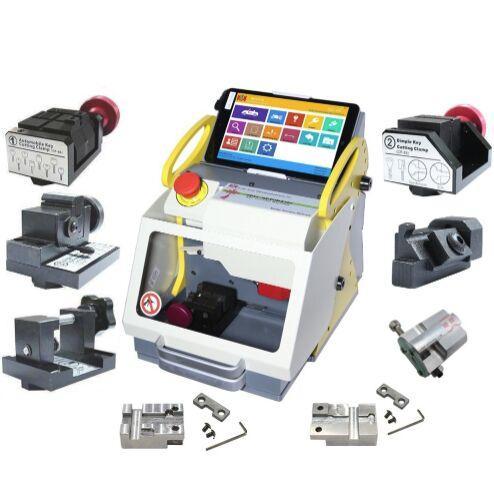 High quality Full Clamp SEC-E9 Automatic Car Key Making Machine Laser Key Cutting Machine For Sale