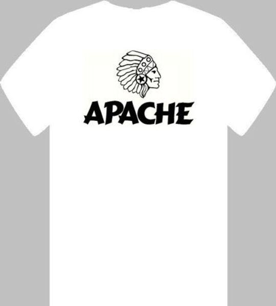APACHE MENS T SHIRT SML-3XL NATIVE INDIAN HEAD DRESS ABORIGINAL FIRST NATION