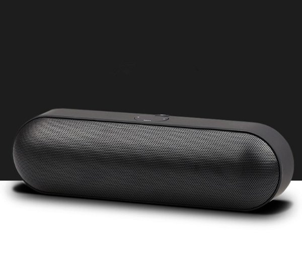 S812 Pill XL Mini Protable Bluetooth Speakers Stereo Subwoofer Wireless Hands-free With Horn And Diaphragms Support TF/USB/ AUX Line-in Mp3