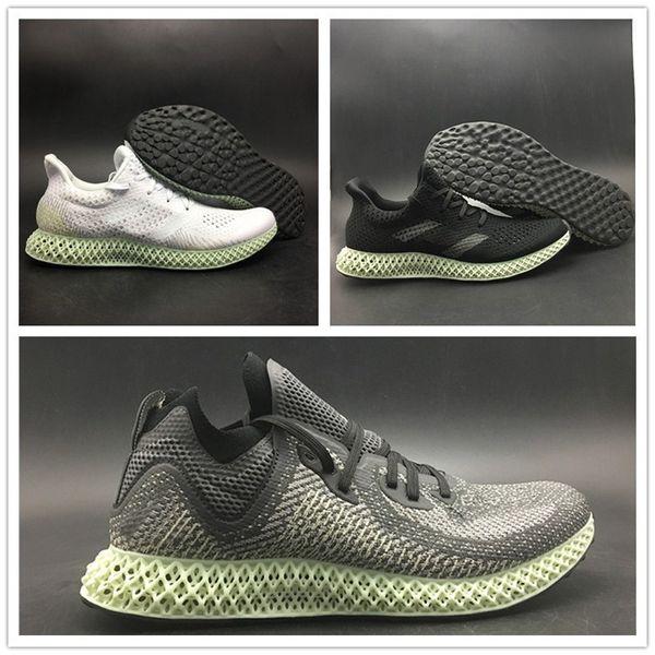 AlphaEdge 4D LTD Print Technology Running Shoe 2018 Ash Green Black White Mens Fashion Designer TOP Quality Sport Shoe With Box