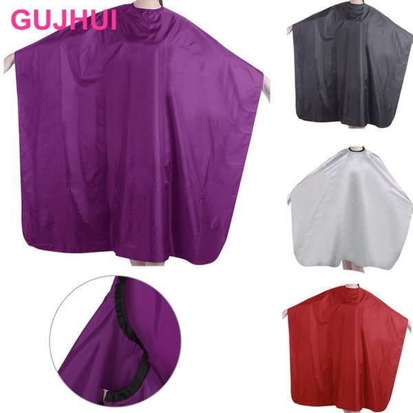 Professional Adult Waterproof Salon Hair Cut Hairdressing Barber Cape Gown Cloth #Y207E# Hot Sale