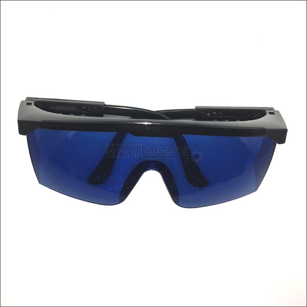 T8S8 Blue Safety Glasses Goggles For 600-750nm Orange Red Laser pointer
