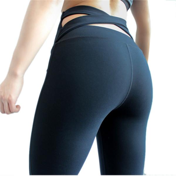 Yoga Pants for Women Petite Length Capri Slim Pencil Trouser Women clothing Pants Sexy Tight Sports Legging Fitness Yoga