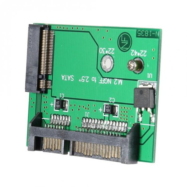 top popular NGFF M.2 SSD Solid State Drive to SATA3.0 2.5 Inch Interface Adapter Converter Card XXM8 2019