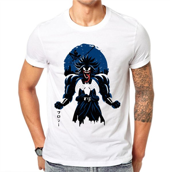 2018 New Film Spider - Man Venom T-shirt Spider Man Skull Men T Shirt Reflect Light Summer Cotton Tees Tops Ropa De Hombre 2018