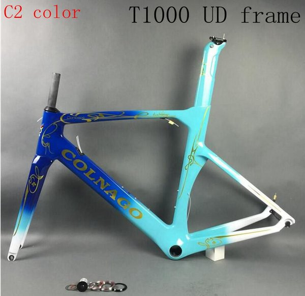 2018 Hi-Q colnago concept T1000 UD racing full carbon fibre road frame bicycle complete bike frameset can special XDB shipping