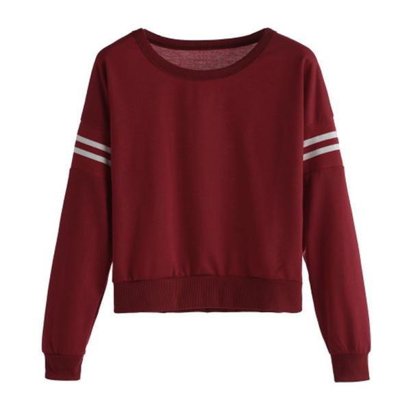 2017 New Arrival Women Pullover Jumper Hoody Long Sleeve Sweatshirt Tops Blouse Hot Sale#30 Hoodies & Sweatshirts