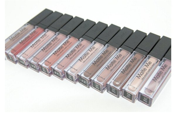 Venta al por mayor Sleek MakeUp - Ultra Smooth Matte Me Lipstick Lip Gloss Cream de larga duración 12 colores de DHL