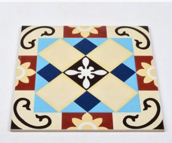 cheap!!!Mosa European style antique personalities small flower brick living room kitchen bathroom balcony floor tile wall brick 300mm* 300mm