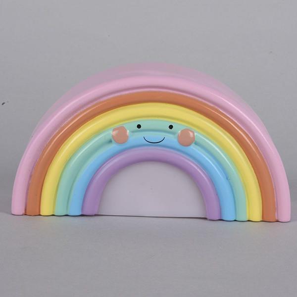 Neue Schöne Lächeln Gesicht Regenbogen Led Nachtlichter Baery Schreibtischlampen Kinder Geschenke Für Baby Kinderzimmer Decor