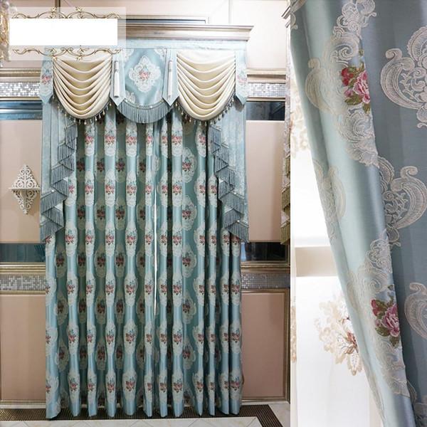 Acquista Tende Jacquard In Rilievo Di Alta Qualità Tessuti Tende Camera Da  Letto Soggiorno Tende Oscuranti In Stock A $12.67 Dal Samul | DHgate.Com