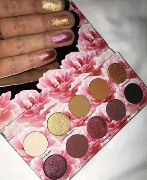 best selling 10 color eye shadow matte waterproofing durable color of the European and American custom manufacturers wholesale.