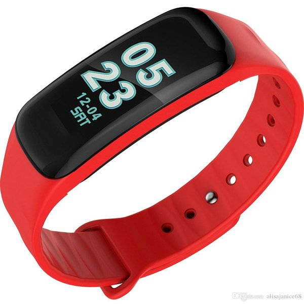 Détection de la fréquence cardiaque et de la pression artérielle Smartwatch, affichage météo, surveillance du sommeil, paramètres d'alarme, alertes téléphoniques. Bracelet bracelet