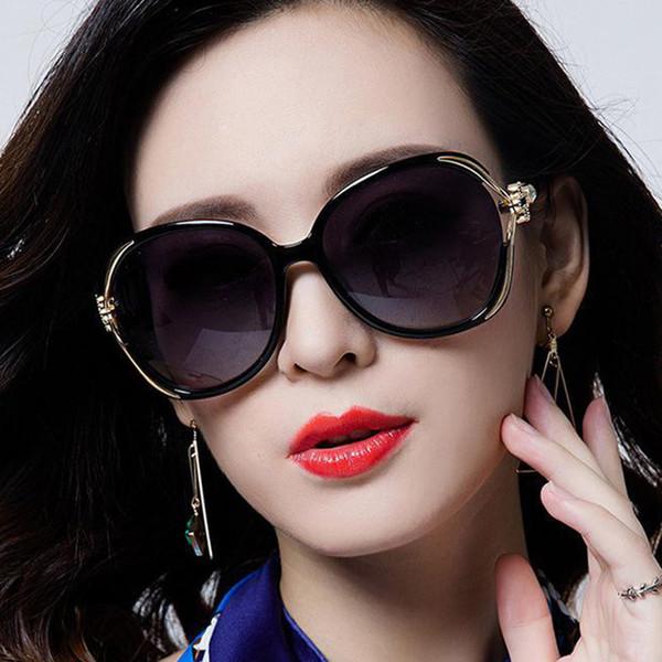 2018 Trendy Gradient Lens Sunglasses Women Men Brand Designer PC Rose Flower Frame UV400 Eyewear Shades lunette oculos de sol