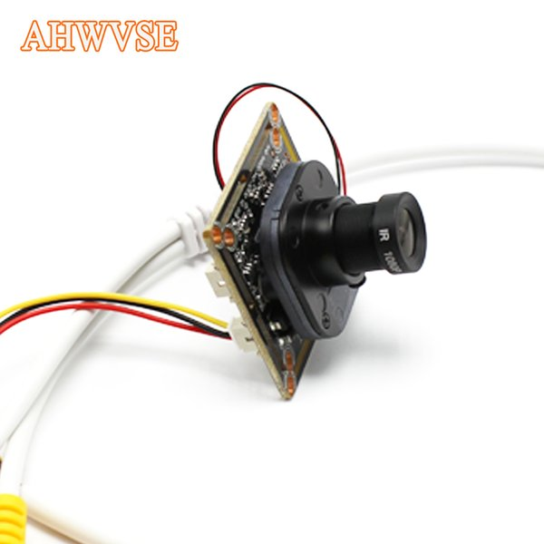 AHWVSE Grande Angular 2.8mm AHD Módulo Da Câmera Para Câmera De Segurança Ao Ar Livre Indoor Ultra Low Iluminação Mini