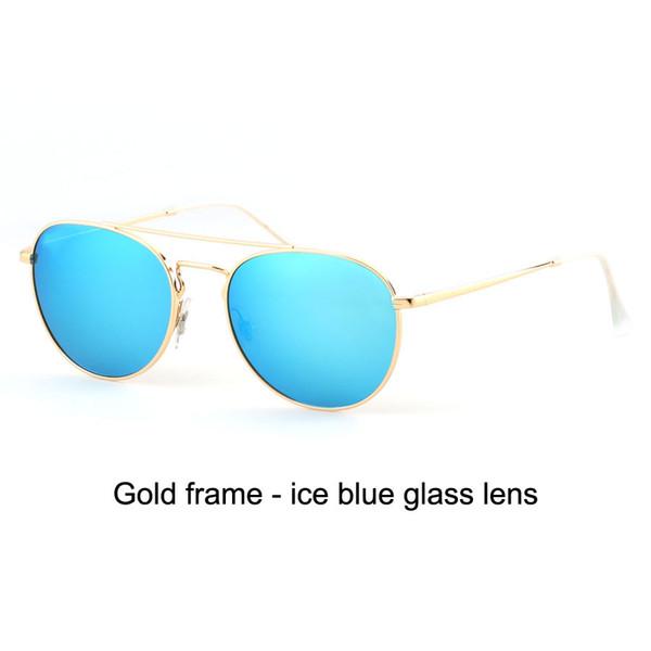 oro azul hielo