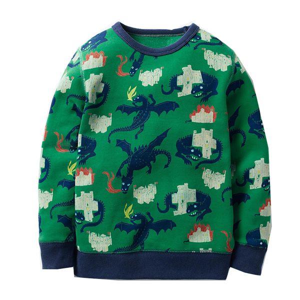 Boys Hoodie Kids Sweatshirt Christmas Baby Boy Clothes 2018 Brand Autumn Winter Animal Cotton Children Hoodies for Boys Clothing