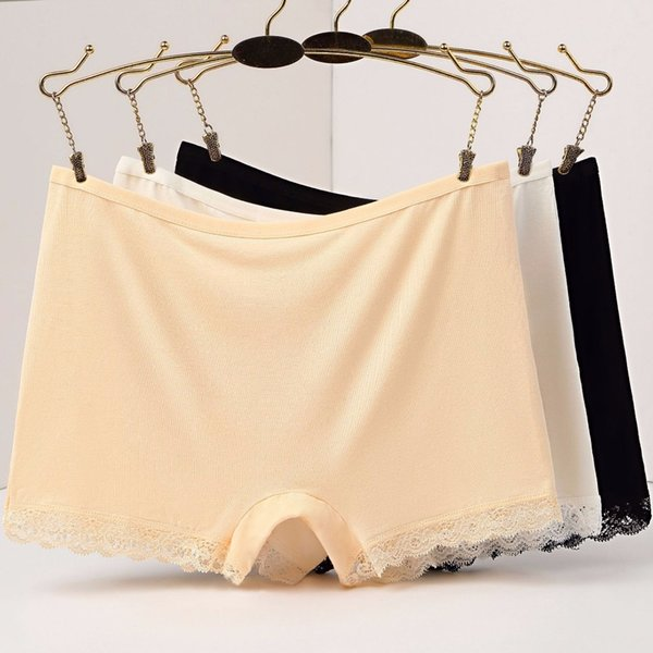 b8110c10 SP&CITY Classic Women Safety Short Pants Underwear Lace Short Tights Female  Briefs Seamless Pants for Dress