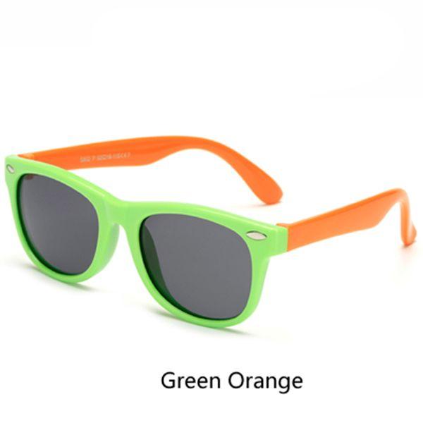 verde laranja