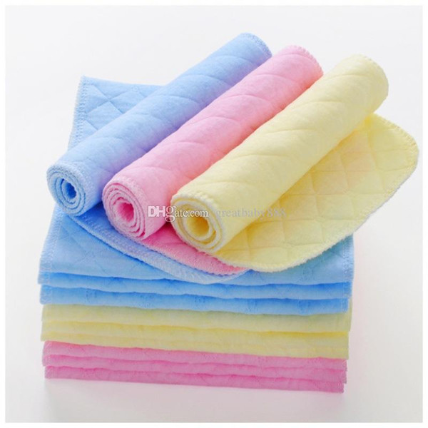 Infant Diapers 3 layers baby Diaper 2018 new 46*17CM Eco-Cotton Washable Nappies C3446