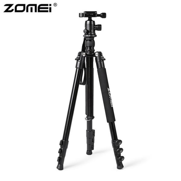 Zomei Q555 Aluminiumlegierung Portable Kamera Stativ Laptop 360 Grad Horizontale Rotierenden Verstellbaren Fuß Für DSLR Kamera Camcorder