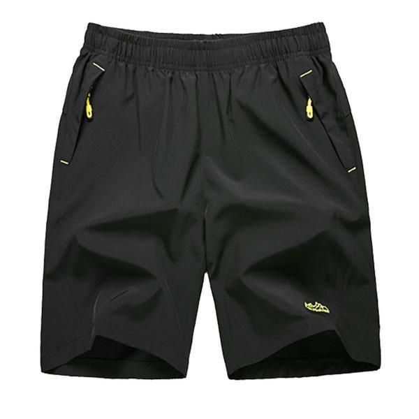 Pantaloncini sportivi fitness da uomo di grandi dimensioni, di grandi dimensioni, pantaloni elastici, allentati, quick-dry, pantaloni a fessura, pantaloncini per gli sport da spiaggia