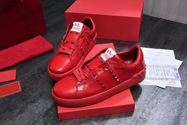 2019 New Designer Name Brand Man Casual Shoes Flat Kanye West Fashion Leather Lace-up Trainers Runaway Arena Shoes yl18060904