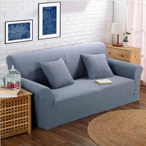 2019 Simple Style All Inclusive Sofa Cover Double Seat Fabric Leather Sofa  Set Elastic Solid Color For Home Textile From Paintingart2017, $9.73 | ...