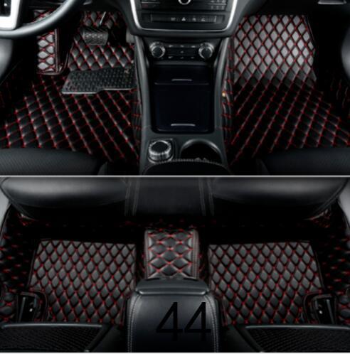 2018 Para BMW Série 3 E90 E92 E93 2005-2011 luxo Mats costume Car Piso