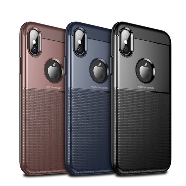 for iphoneX 6/7/8 plus samsung galaxy s9 plus phone case 2 in 1 Soft TPU Hard PC Back Back Cover Split type