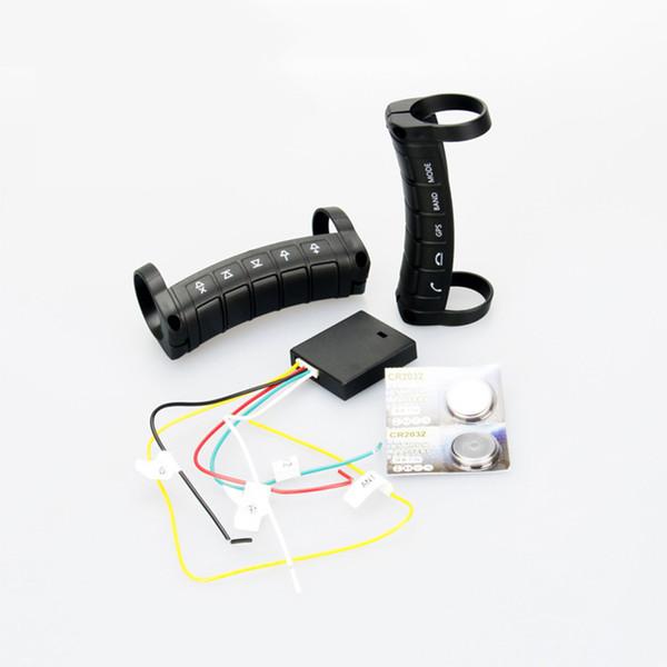 Universal 10 Tasten Fernbedienung Wireless Auto Lenkrad Taste Fernbedienung für Stereo DVD GPS Android / Fenster Bluetooth