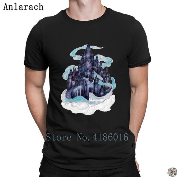 Dream Castle t-shirt top tee Super Personality trendy men's tshirt Unisex plus size 3xl summer tee shirt Novelty