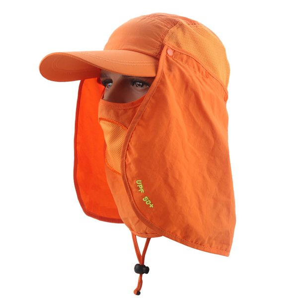 360 Sunscreen Hat Sunshade Men Women Tourism Step Green Outdoor Sport Peaked Cap Ventilation Fast Drying Polychromatic 28my cc