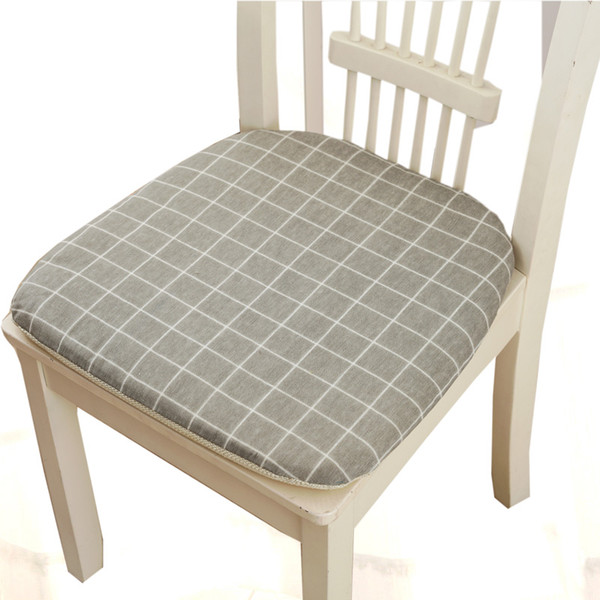 Nordic Style Washable Seat Cushion Cotton Thin Mats For Floor 38*38cm Chair Cushion Pad for Sofa Car Office Home Decoration Living Room Pads