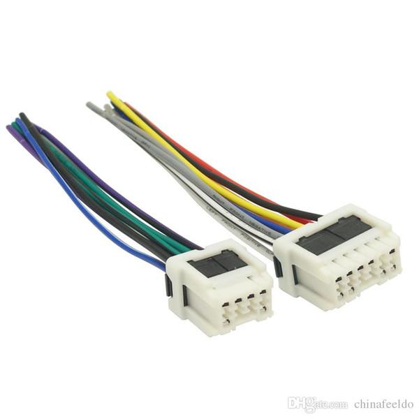 Großhandel Auto Stereo Power Wiring Harness Adapter Für Alte NISSAN on