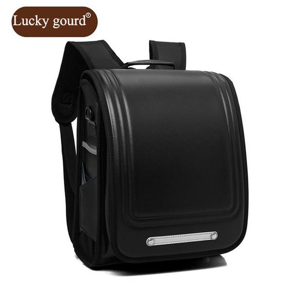 LUCKY GOURD Brand Hot Girl School Bags PU Leather Bag 2018 Korean Children School Backpacks 1 - 3 Grade Boy Girl Backpack Z928