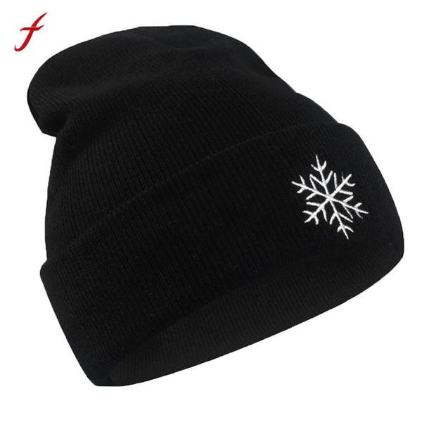2018 mulheres chapéu do inverno Padrão de Tempo gorros De Malha Hip Hop Quente Baggy Cap lã gorro de inverno chapéu femme gorro