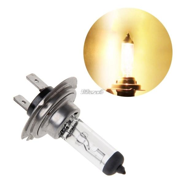 Car H4 H7 55W 12V HOD Xenon White 3000k Halogen Car Head Light Globe Bulb Lamp Auto Headlight Bulbs Light DropShip