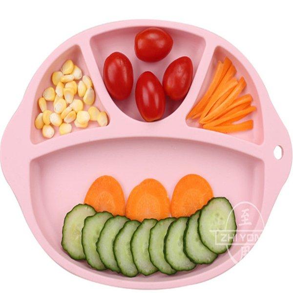 Bambino di silicone per uso alimentare che mangia la stuoia di servizio per il bambino portatile in stuoia portatile resistente e durevole con imballaggio in massa OPP K0337