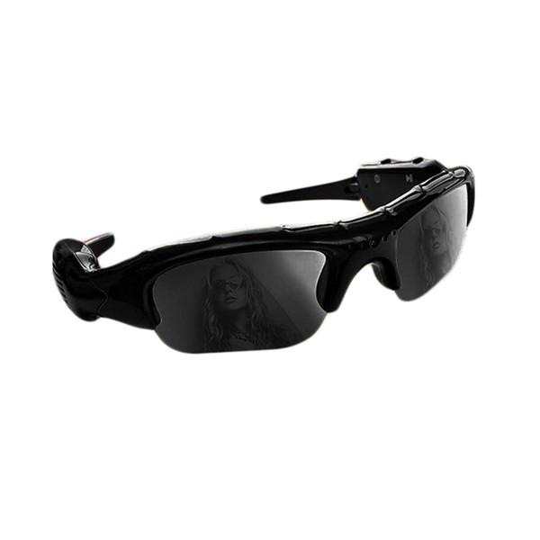 ET Weitwinkel-Sonnenbrille Kamera Mini Eyewear DV DVR Video Recorder Outdoor-Sport-Camcorder-Unterstützung TF-Karte für den Antrieb von Brillen