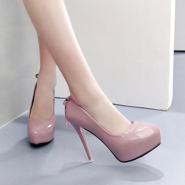 2018022 zapatos de tacón alto de las mujeres zapatos de las sandalias de las mujeres de la alta calidad de los 12cm zapatos de la manera